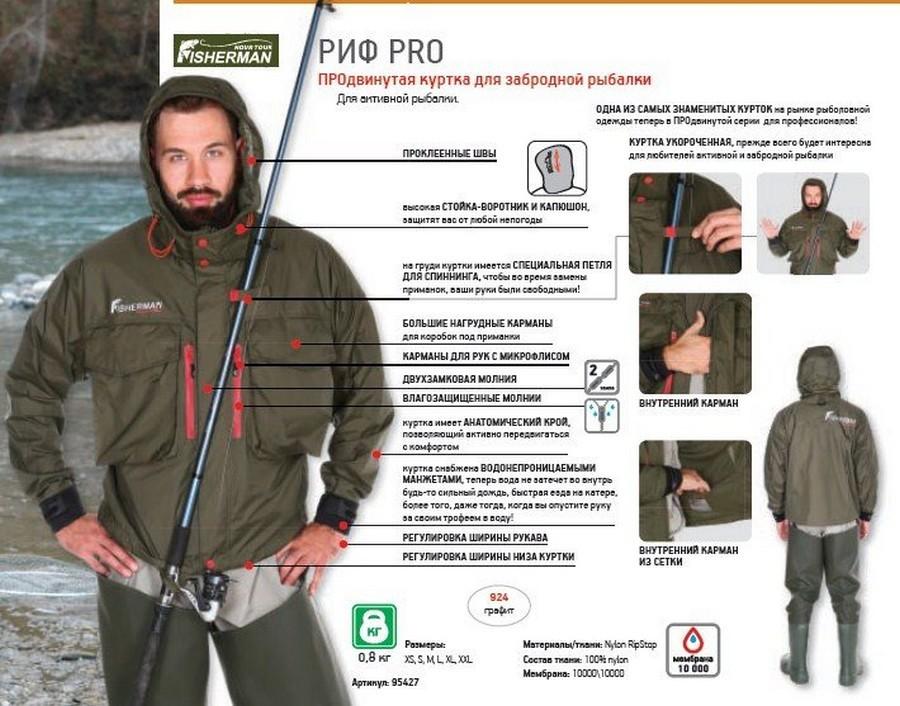 Куртка для рыбалки своими руками 20